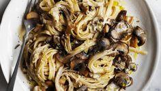 Adam Liaw's marvellous mushroom pasta