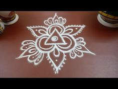 New year 2018 rangoli designs - easy new year kolam - muggulu for new year Indian Rangoli Designs, Simple Rangoli Designs Images, Rangoli Designs Flower, Rangoli Designs Latest, Rangoli Border Designs, Rangoli Patterns, Rangoli Designs With Dots, Rangoli Ideas, Kolam Rangoli
