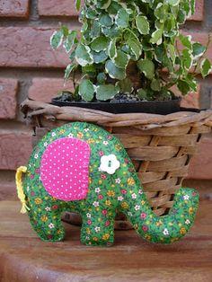 Elefante de pano