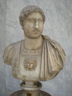 Hadrian (Head) - Musei Vaticani, Rome