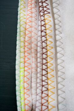 Molly's Sketchbook: Ombre EdgeThrow - Purl Soho - Knitting Crochet Sewing Embroidery Crafts Patterns and Ideas!