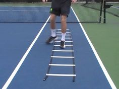 Tennis Conditioning Routine: Speed Ladder Drills