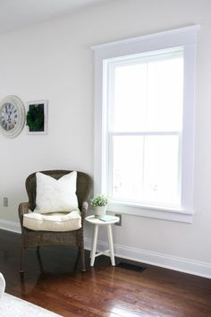 Modern window trim home how to install craftsman style interior windows without farmhouse exterior . Window Molding Trim, Craftsman Window Trim, Craftsman Style Doors, Interior Window Trim, Moldings And Trim, Window Trims, Window Casing, Diy Molding, Crown Molding