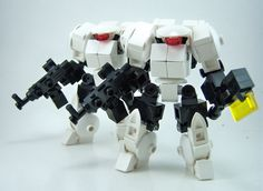 https://flic.kr/p/cTF57N | Super Chub Marines | Equipped with jump packs, and slimmed down armor. Because sometimes you need to get there quick.