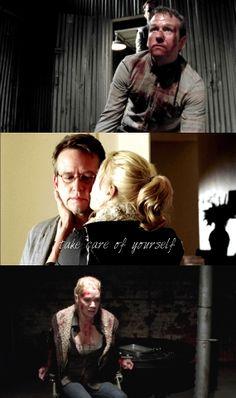 Andrea and Milton ~ The Walking Dead Fan Art