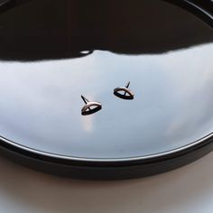 line II Carat Gold, Line, 925 Silver, Silver Plate, Plating, Delicate, Earrings, Pattern, Jewelry