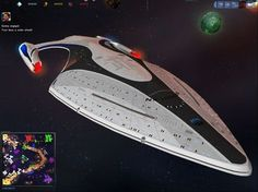 "USS PROTEUS (class) advanced ""Slipstream"" tactical cruiser / explorer."