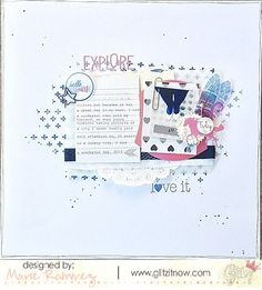 Brand New Wild and Free Collection from Glitz Design - Scrapbook.com