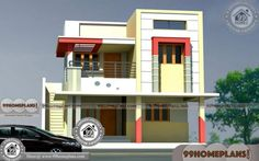 Awesome 1600 sq ft tamil house plan kerala home design and floor plans tami Best Modern House Design, Duplex House Design, Simple House Design, House Front Design, 20x30 House Plans, Bedroom House Plans, House Floor Plans, Simple House Plans, Modern House Plans