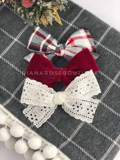 Ribbon Hair Bows, Diy Hair Bows, Diy Ribbon, Ribbon Flower, Fabric Flowers, Diy Baby Headbands, Baby Hair Clips, Baby Bows, Flower Headbands