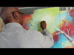#david#vasquez#painting#red#fall#acrylic#oncanvas - YouTube