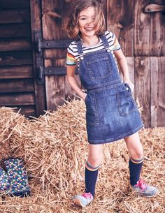 Dungaree Dress 33454 Dresses at Boden