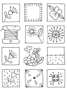 vintage transfer patterns for embroideryfree vintage machine embroidery patterns Embroidery Sampler, Embroidery Transfers, Hand Embroidery Stitches, Vintage Embroidery, Embroidery Applique, Cross Stitch Embroidery, Machine Embroidery, Embroidery Designs, Stitch Book