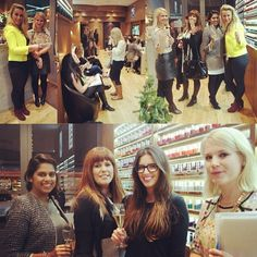 A little collage from Wednesday's #beauty #event at @boutiquespauk in partnership with #Espa #skincare and @#essiepolish #essie. A great night was had by all!