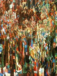 Flowers of the world flourishing, Pavel Filonov