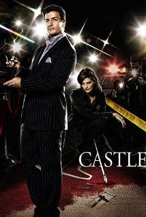 "Castle  - Love the TV series and the books by ""Richard Castle"".  Doesn't hurt to have Nathan Fillion to look at either..."