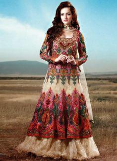 Stylish Embroidery Bridal-Wedding Lehanga-Choli Gown New Fashion Dress for Indian Brides-Dulhan-