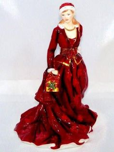 Royal Doulton MISTLETOE & WINE Compton & Woodhouse Limited Edition Figurine CW89
