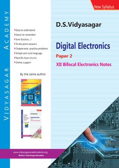 Complete notes of Paper-2 for the students of 12th std. bifocal electronics in India.