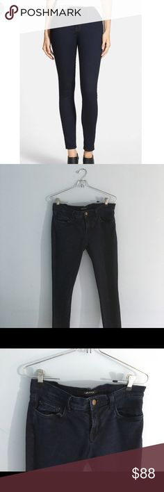 "J BRAND Jeans In very good condition! Stretchy Jegging Material, I am 5'6"" and it goes to just above my ankle. Picture may not necessarily be the exact Jeans but they are pretty much them! J Brand Jeans Ankle & Cropped"