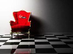 #red #chair | czerwone krzesło