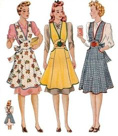 Repro Vintage Full Apron | Sew These Inspiring Vintage Sewing Patterns For An Ultimate Throwback