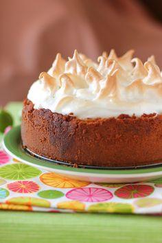 Key Lime Pie Cheesecake with Meringue