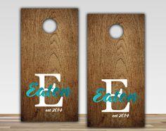 Custom Cornhole Boards by Cornholed on Etsy 16500 fun times