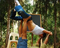 OK I do a little acro yoga with ma friends :-)