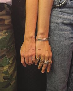 If you& on the hunt for cute tiny tattoos and small tattoos, we rounded up the best minimalist tattoo inspiration from celebrity-loved artist JonBoy. Cute Hand Tattoos, Small Hand Tattoos, Dainty Tattoos, Cute Small Tattoos, Cool Tattoos, Tatoos, Line Tattoos, Body Art Tattoos, Ankle Tattoos