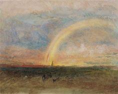 Turner - The Rainbow - c. 1835.