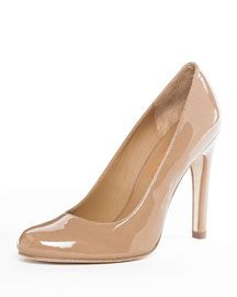 "nude pumps ...make you look taller! Add them to your ""must have"" list!"
