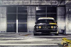 BMW E30 M3 Matte DTM z roku 1988.
