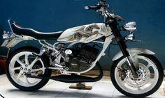 Gambar Modifikasi Motor RX King Keren Terbaru