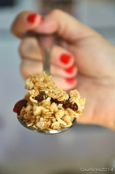 Burro e Malla: Granola home made