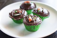 Veggie Cupcakes {as healthy as they sound, as delicious as they look!}