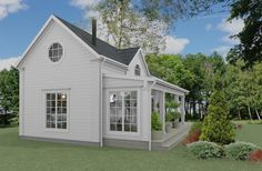 Privat kommer vi att bygga ännu ett hus på gården - ett eget litet hus till vår äldsta dotter. Huset har en byggyta på 45 kvadratmeter. B...