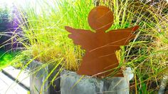 Gartendeko ✿ Schutzengel ✿ Edelstahl & Roststahl ✿ von PAULSBECK Buchstaben, Dekoration & Geschenke auf DaWanda.com
