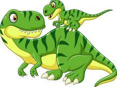 Cartoon mother and baby dinosaur Royalty Free Vector Image , Dinosaur Art, Dinosaur Birthday, Dinosaur Kids Room, Dinosaur Pictures, Baby Dinosaurs, Mother And Baby, T Rex, Cute Cartoon, Cute Drawings