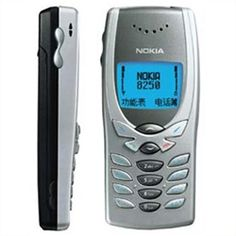 "My first cellphone. Plenty of memories with YiQian. The Nokia 8250 or the ""Butterfly phone"" was an evolution to the 8210. It was pretty much the same shape and specs but with a distinctive 'Butterfly' shaped buttons and blue back-lit."