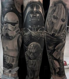 6135e4c106283 10 Best Darth Vader Tattoo images in 2017 | Darth vader tattoo, Star ...