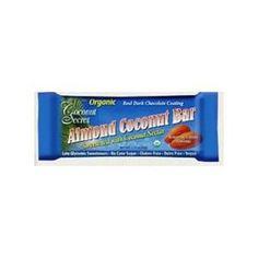 Coconut Secret Coconut Bar, Almond, 1.75 Ounce (Pack of 12) - http://goodvibeorganics.com/coconut-secret-coconut-bar-almond-1-75-ounce-pack-of-12/