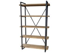 Shop this moe's home collection lex 47 x 14 rectangular natural five-level shelf from our top selling Moe's Home Collection bookcases. LuxeDecor is your premier online showroom for home office furniture and high-end home decor. Bookshelf Styling, Bookcase Shelves, Glass Shelves, Wall Shelves, Bookcases, Shelving, Open Shelves, Contemporary Bookcase, Modern Bookcase