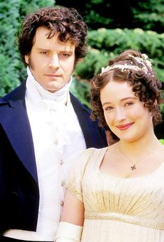 20 GIFs To Celebrate The Twentieth Anniversary Of BBC's Pride And Prejudice Happy anniversary of Colin Firth ruining all other men forever. Colin Firth, Darcy And Elizabeth, Elizabeth Bennett, Jennifer Ehle, Image Film, Jane Austen Novels, Mr Darcy, Drame, Cinema