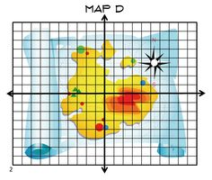 """"""" on each of four different maps that include a coordinate plane ..."""