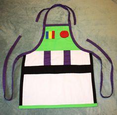 Buzz Lightyear Apron Costume by runningoutamoonlight on Etsy