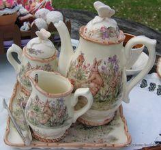 Beatrix Potter Tea set! Love this!! ^_^