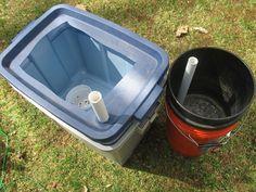 Self watering tomato pots