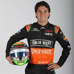 Actualmente, tiene su tercera temporada con el Sahara Force India de la Formula 1. En 2014 concluyó en el Top 10 del Campeonato Mundial de Pilotos. Le Mans, Sergio Perez, Force India, F 1, Mendoza, Lamborghini Aventador, Formula One, Grand Prix, Motorcycle Jacket