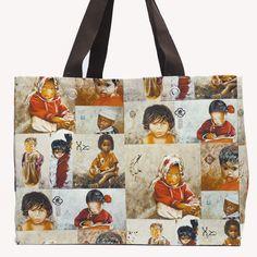 Grand cabas patchwork Enfants du monde  Site : http://www.lysandcreations.com/boutique/liste_rayons.cfm?